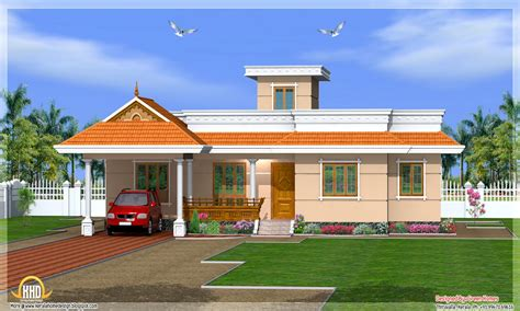 houses plans kerala house designs one story most beautiful houses in