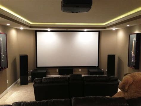 Home Theater Ceiling Lighting Led Lighting Around Ceiling Home Cinema Theater Lighting And Led