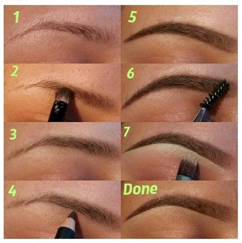 natural eyebrow makeup tutorial for beginners great eyebrow tutorial makeup pinterest eye brows