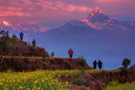 machhapuchchhre mountain  nepal thousand wonders