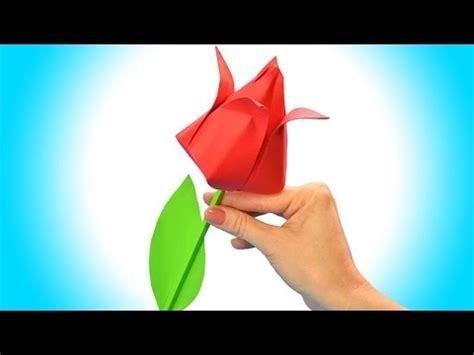 Come Fare Un Fiore Di Carta Facile by Come Fare Un Fiore Di Carta Facile Origami Fiori