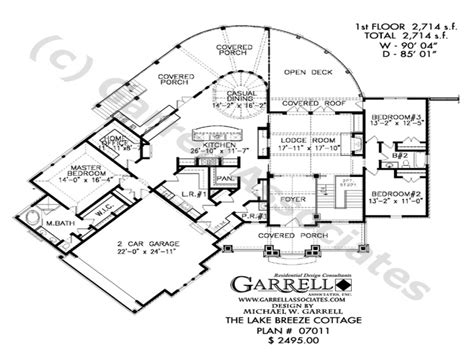 lake cottage floor plans lake house open floor plans open plan house designs lake
