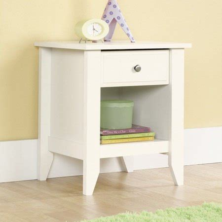Sauder Shoal Creek Nightstand by Sauder Shoal Creek Collection 1 Drawer Nightstand Soft