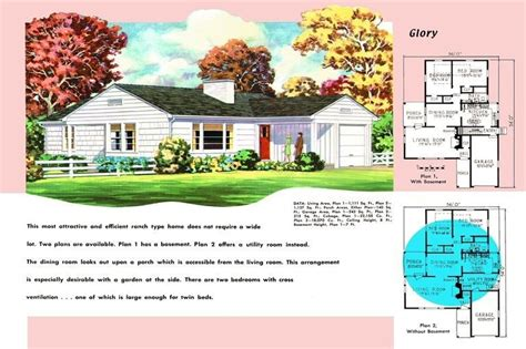elegant 1950s ranch house floor plans new home plans design 1950s ranch house floor plans elegant ranch homes plans