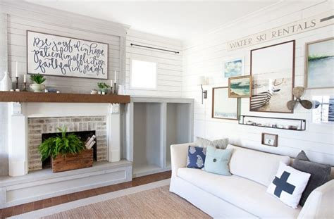 Lettered Cottage Fireplace by Blogkeen The Lettered Cottage Interior Design Blogs