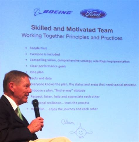 mulally business plan review format after boeing and ford alan mulally says i m a googler