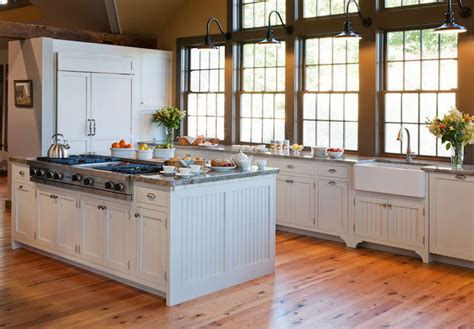 Kitchen Island Panel Ideas Kitchen Island With Beadboard Trim Country Kitchen