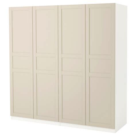 ikea wardrobe light pax wardrobe white flisberget light beige 200x60x201 cm ikea