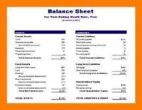 6 simple balance sheet example teller resume