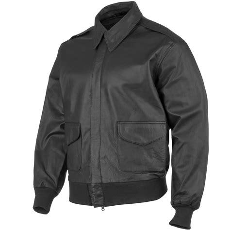 Diskon Jaket Army Jaket 2 In 1 mil tec a 2 leather flight jacket black flight