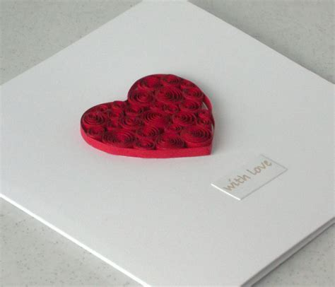 card with quilling quilled cards o on cards