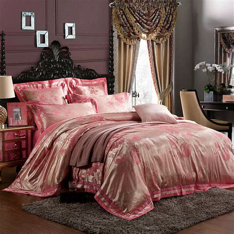 traditional bedding 6pcs set 100 damask silk chinese traditional wedding