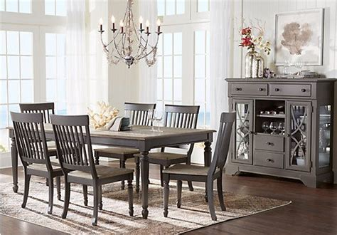 shop dining room sets shop for a home grove gray 5 pc