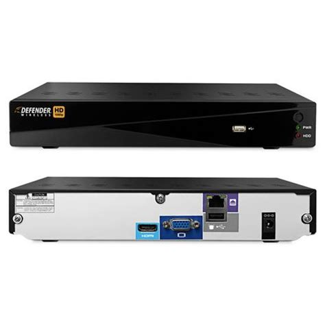 defender wireless hd 1080p 4 channel security system with