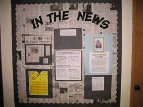 current event bulletin board display top current