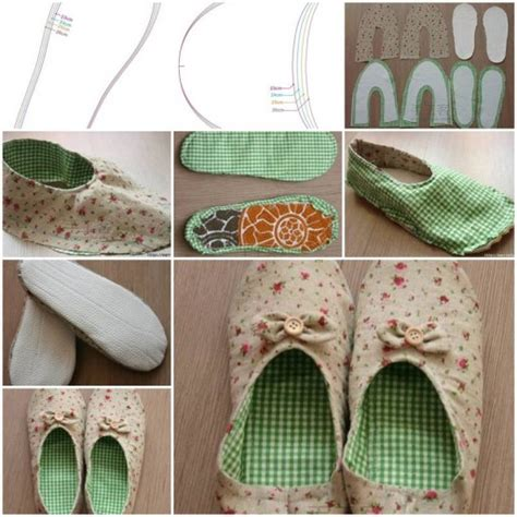 how to make house slippers how to make womens house slippers diy tutorial instructions how to instructions