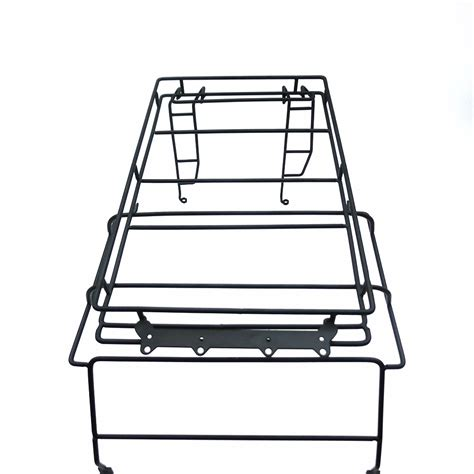 Roof Rack Metal D90 Rc 1 10 metal luggage roof light stand rack for 1 10 rc4wd d90 wrangler rc crawler ebay