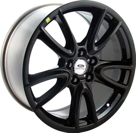 Racing Track Pack Black by Ford Racing Mustang Track Pack Wheel 19x9 Black 05 15