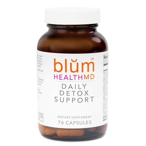 Can I Take Vitamins While Detoxing by Daily Detox Support Capsules Blum Health Md
