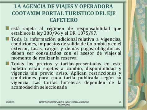 cambios a la ley 180 de vacaciones boletin laboral cootaxim portal tur 205 stico del eje cafetero destino
