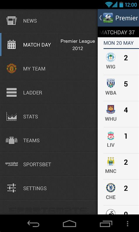 epl online epl 2014 2015 android apps on google play