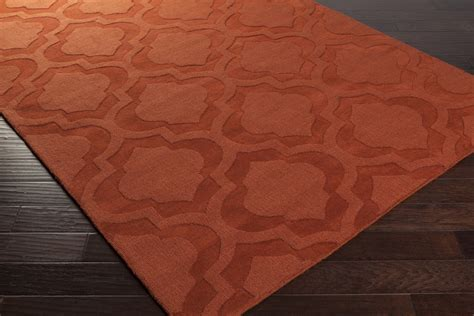Artistic Weavers Central Park Kate Awhp4015 Orange Area Rug Orange Rugs