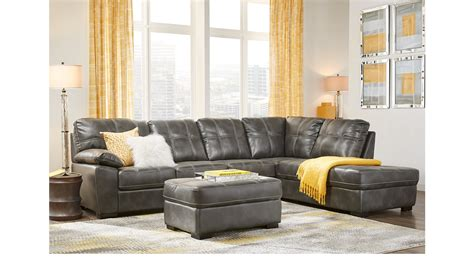 sectional living room sets sale bexley square slate 3 pc sectional living room sectional