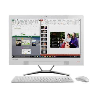 Lenovo Aio Pc 310 20iap F0cl00 0kid Celeron J3355 Dc 2 00 2 50ghz jual lenovo ic 310 20iap 0kid all in one desktop pc white j3355 4 gb 500 gb win 10
