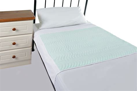 waterproof pads for beds washable waterproof bed pad with wings from slumberslumber com