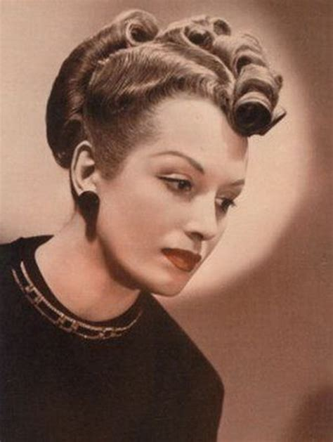 hairstyles from the 30s and 40s hairstyles 40s 50s best acconciature anni 30 40