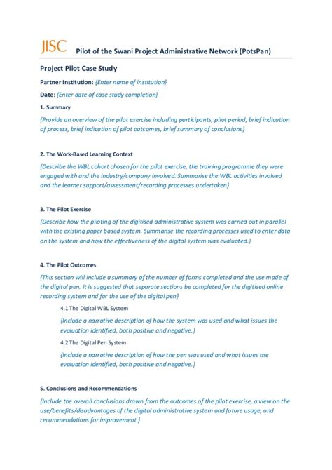 potspan case study template