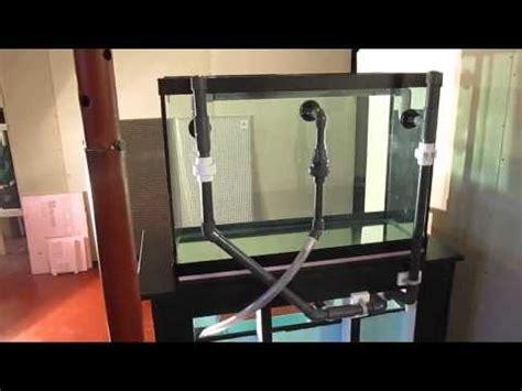 aquarium return design drilling overflows and return holes into 125 gallon