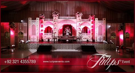 Traditional Punjabi haveli weddings stage theme in Pakistan