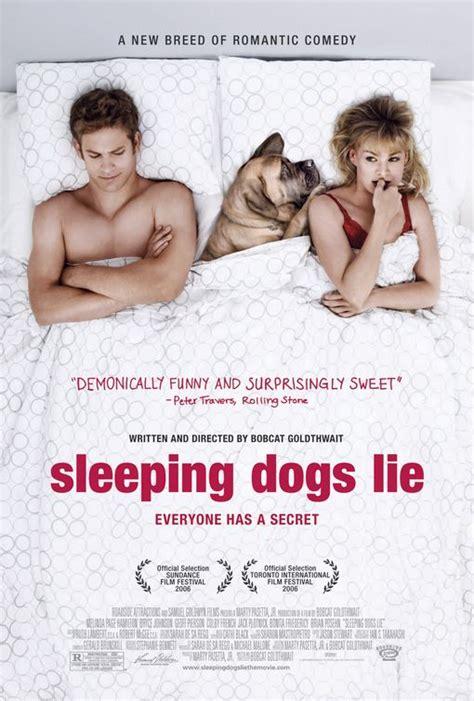 sleeping dogs lie sleeping dogs lie poster imp awards