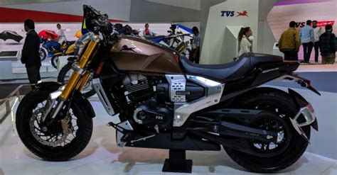 production spec tvs zeppelin  debut  auto expo