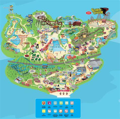 map kentucky park park map kentucky kingdom and hurricane bay