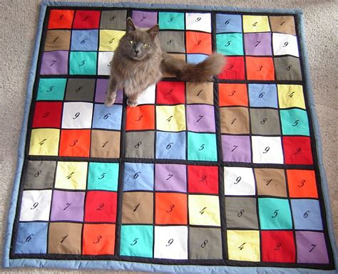 Sudoku Quilt Pattern Free by Promlabarba Sudoku Quilts