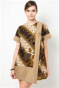 model baju dress batik modern terbaru design bild