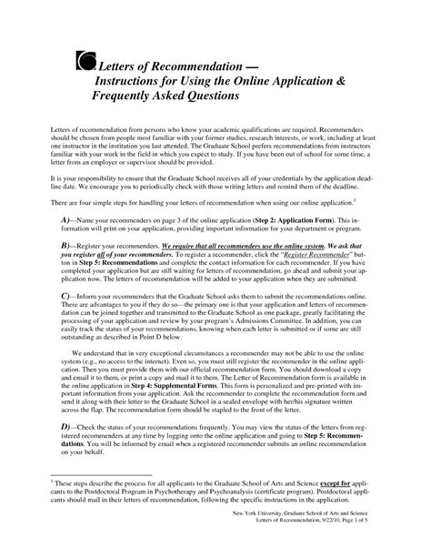 Letter Of Recommendation By Hod sle letter of recommendation for ms in computer science