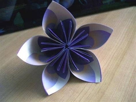 origami fiore facile fiori di carta origami fiori di carta