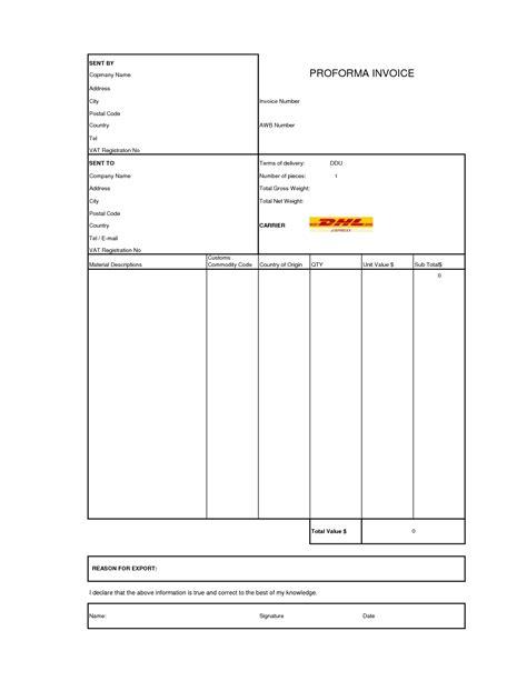 proforma invoice format korest jovenesambientecas co