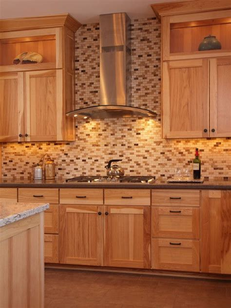 Best 25  Natural Hickory Cabinets ideas on Pinterest