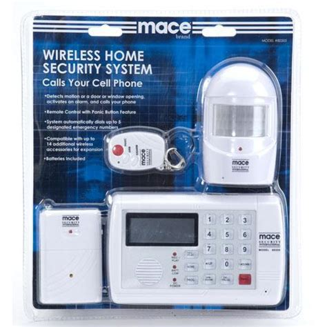 mace wireless home security system supreme defense