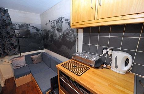 london flat living    closet literally