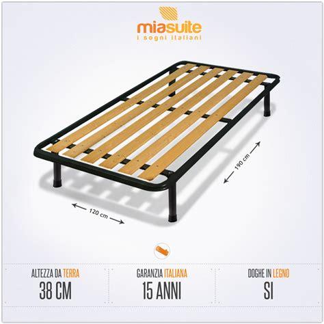 rete e materasso una piazza e mezza rete una piazza e mezza a doghe verticali 120x190 per letto