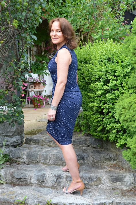pictures of elderly women wearing shorts tastefully polka dots and wrap dress lady of style