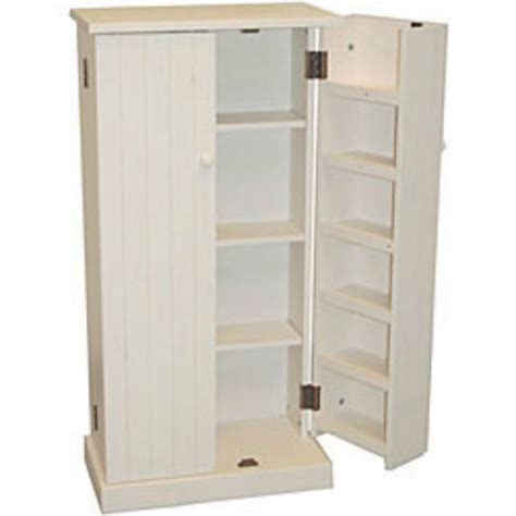 Free Standing Kitchen Cabinet Storage Kitchen Pantry Cabinet Free Standing White Wood Utility Storage Cupboard Food Mud Porch