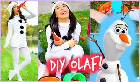 an olaf dress up costume to say quot awwww quot over ruffles and diy olaf frozen halloween costume easy and affordable