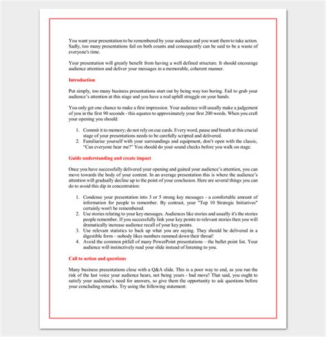Presentation Outline Template 19 Formats For Ppt Word Pdf Presentation Outline Template