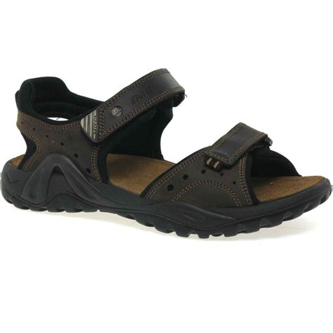mens velcro sandals uk imac wolf mens velcro fastening sandals from charles
